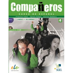 Compañeros 4 - Libro y cuaderno (B1.2)